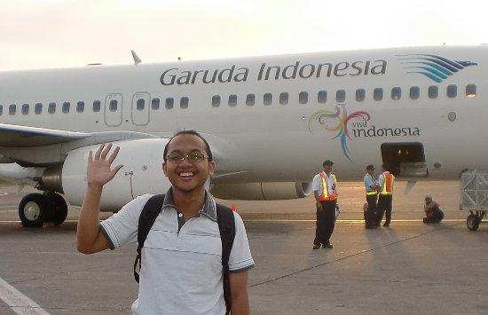 Mendarat di Bandara Ngurah Rai Bali